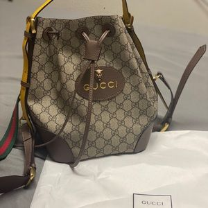 Gucci Neo Vintage GG Supreme Backpack